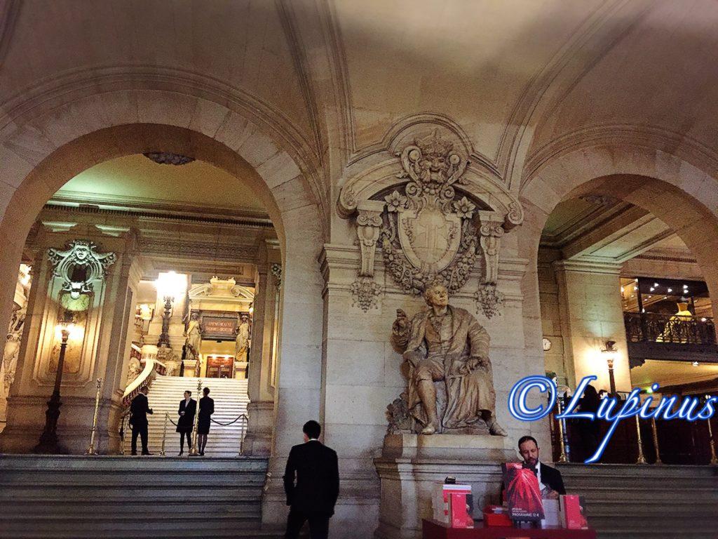 パリオペラ座の風景